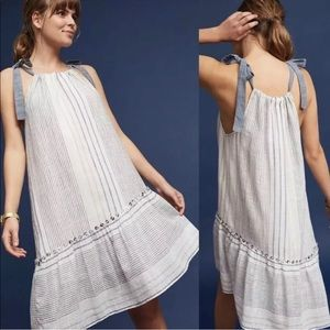 Anthropologie Maeve Miller Yarn Dress